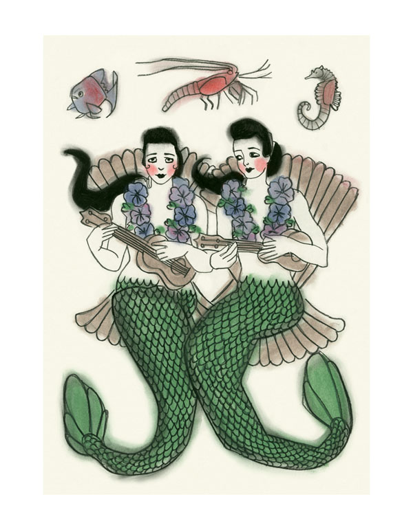 Ukulele_Mermaids
