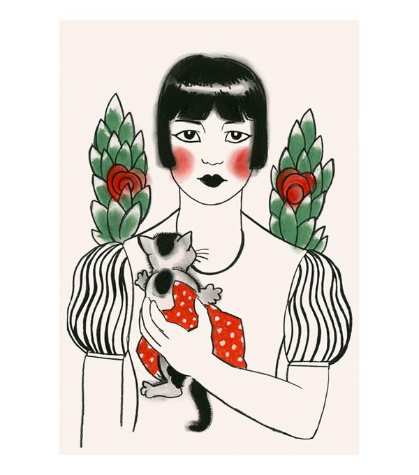 Matou_en_Peluche_Mimi_and_Hokusai