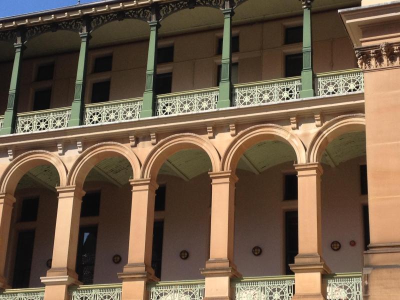 Sydney Hospital Balconies